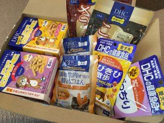 DHCペット用健康食品の口コミレビュー!ドッグフード私も食べてみました。