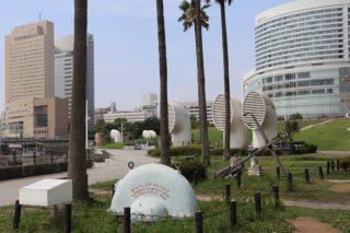 横浜桜木町周辺【日本丸メモリアルパーク】愛犬とのおすすめ散歩コース
